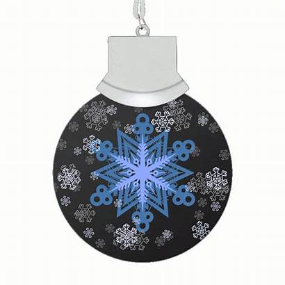 Animated Snowflake Snow Let Necklace Led Magic