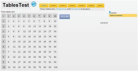 jeux en ligne table de multiplication apprendre les tables de multiplication en ligne