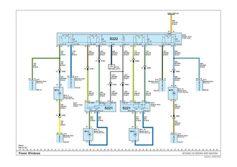vy commodore power window wiring diagram wiring diagrams