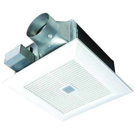 home depot exhaust fan panasonic quiet 80 or 110 cfm ceiling dual speed exhaust