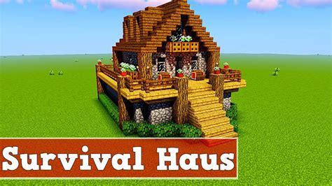 Wie Baut Moderne Häuser In Minecraft by Wie Baut Ein Survival Haus In Minecraft Minecraft