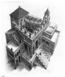 Maurits Cornelis Escher Escalier by Escaliers On Pinterest