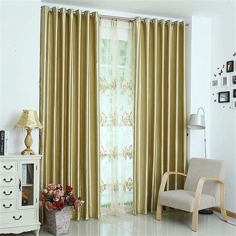 yellow blackout curtains bright yellow polyester insulated thermal blackout lining