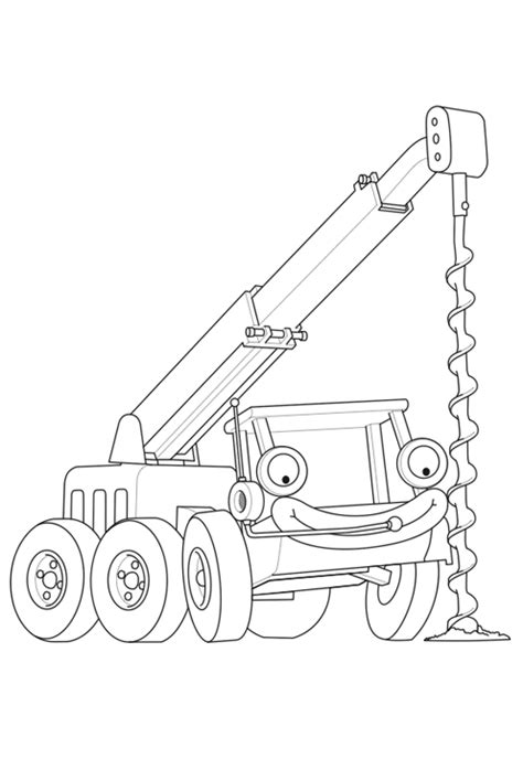 Mighty Machines Coloring Pages - Eskayalitim