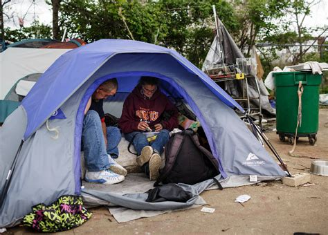 tent city residents   relocated  contaminated site
