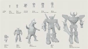 Robot And Mech Size Comparison V2