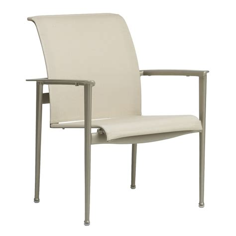 brown flight stacking arm chair