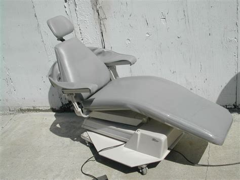 Dental Chair Upholstery Kits by Adec 1005 New Gray Upholstery Pre Owned Dental Inc