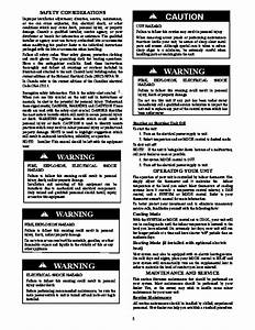 Carrier Pa3g 01 Heat Air Conditioner Manual