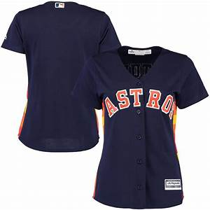 Fanatics Nhl Jersey Size Chart Houston Astros Majestic Women 39 S Cool Base Jersey Navy