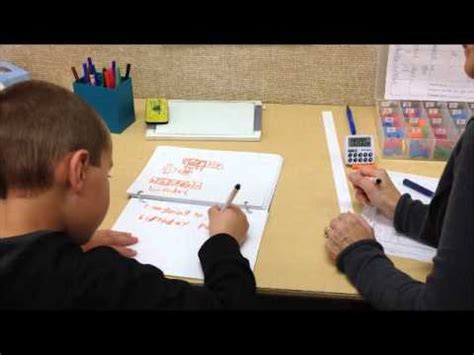 Writing Component Of Reading Recovery Youtube
