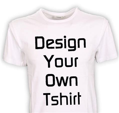 design your own t shirt personalized design your own custom tshirt any color ebay