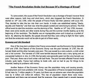 essays on the french revolution research paper topics on the french  causes of the french revolution essay