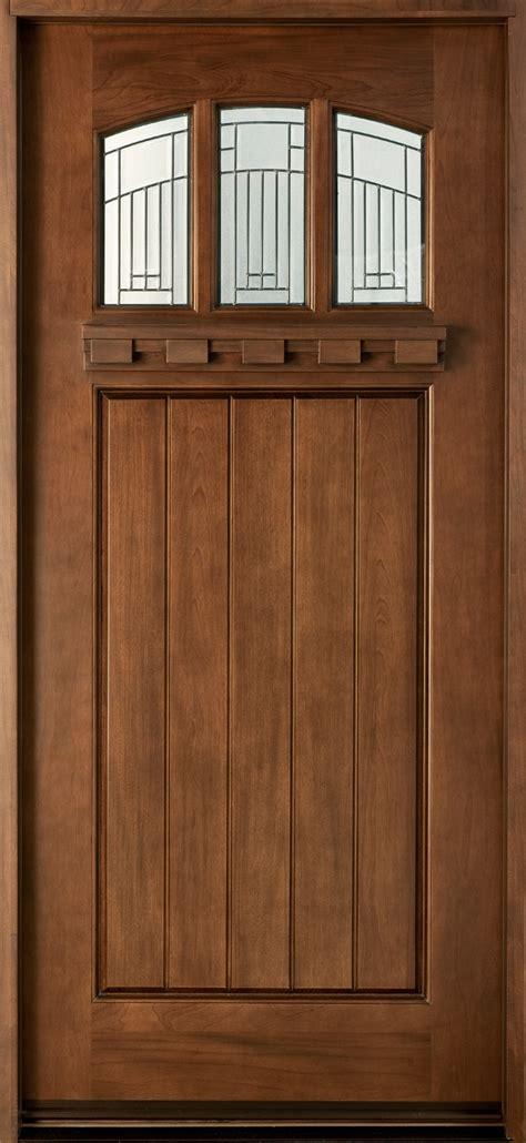 wood entry door craftsman custom front entry doors custom wood doors