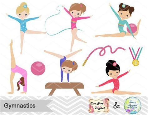 resultado de imagen  ninas gimnasia dibujos kawaii