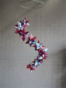 Star Origami Mobile DIY
