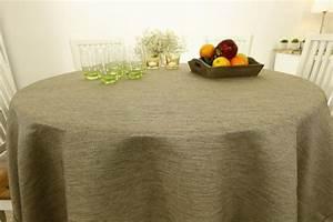 Tischdecke Rund 160 : landhaus tischdecke grob gewebt 80 cm 160 cm rund tideko tischdecken tischdecken ~ Orissabook.com Haus und Dekorationen