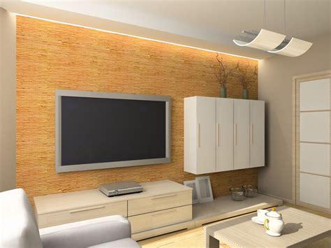 Fernsehwand Mit Beleuchtung by Indirekte Beleuchtung An Der Tv Wand Diy Living