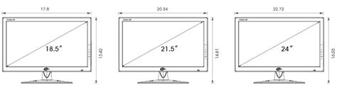 desk depth for 24 monitor accessories kt c usa ktnc high definition video
