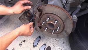Replace Front Brake Pad On Nissan Frontier