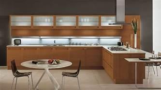 modular kitchen design ideas 20 sleek and modern wooden kitchen designs home