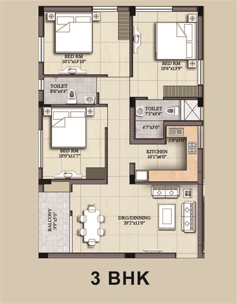 28 3bhk house design plans heights peer