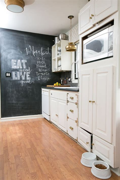 chalkboards in kitchens 35 creative chalkboard ideas for kitchen d 233 cor digsdigs