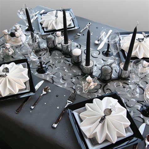 exemple d 233 coration de table de no 235 l blanc et gris table de no 235 l blanche decoration table et