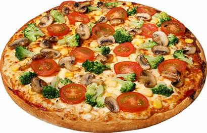 Pizza Transparent Tomato Cheese Icon Clip Fast