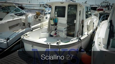 barca cabinata usata sciallino 27 barca usata a motore cantiere sciallino