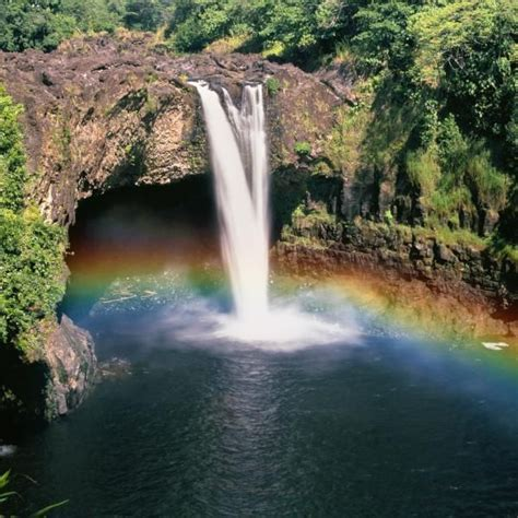 hilo tropical waterfalls in hawaii hawaii shore