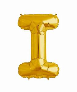 mylar 16quot gold balloons With letter balloons houston