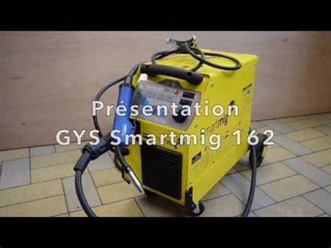 gys smartmig 162 soudure fil fourr 233 doovi