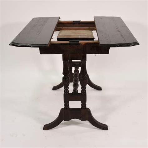 antique butterfly leaf table antique console dining table w butterfly leaf 4080