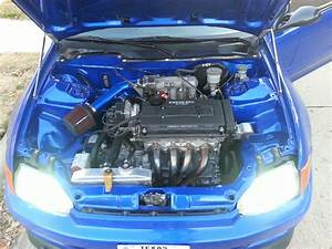 My B20 Swap Wire Tuck Project   Honda