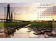Month wise Calendar Wallpapers of 2015