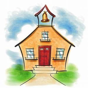 Free Cartoon School Building  Download Free Clip Art  Free Clip Art On Clipart Library