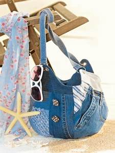 Taschen Selber Machen : jeans tasche zum selbermachen f r sie ~ Orissabook.com Haus und Dekorationen