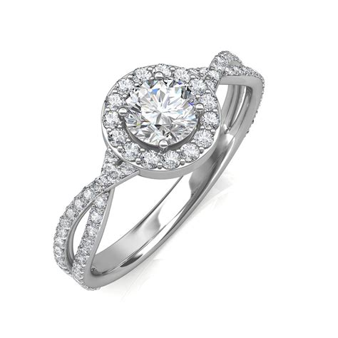 0 95 carat platinum zara engagement ring engagement rings at best prices in india