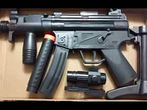 MP5 (2) TOY GUN - YouTube  Toy