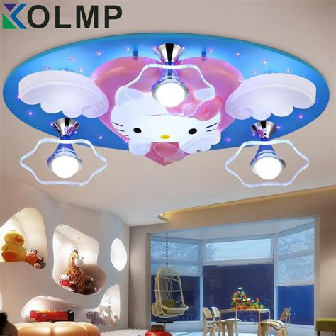 bedroom ceiling lights newest hello kitty cat led ceiling lights fixture 10303 | Newest Hello Kitty Cat LED Ceiling Lights Fixture Cute Girls Bedroom Ceiling Lamps Kids Child Cartoon