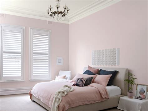 soft rose coloured bedroom inspirations paint