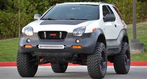 Isuzu Vehicross Ironman isuzu vehicross ironman edition is a funky yet tough