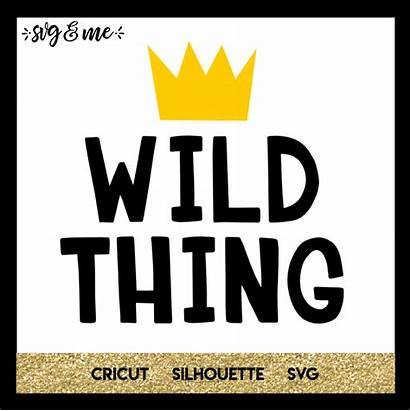 Wild Thing Svg Onesie Cricut Boy Silhouette