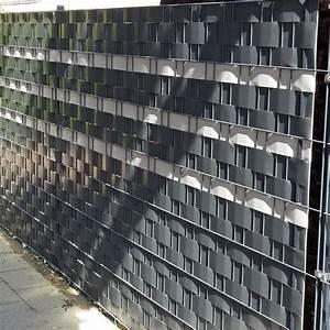 Metallzaun Mit Sichtschutz : der gleiche zaun von der stra e aus gesehen attraktiver sichtschutz mit m tec profi line pvc ~ Sanjose-hotels-ca.com Haus und Dekorationen
