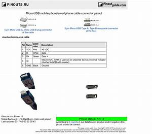Usb And Micro Usb Wiring Diagram