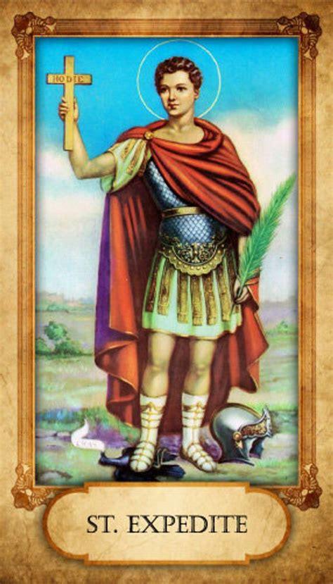 items similar  st expedite prayer card  etsy