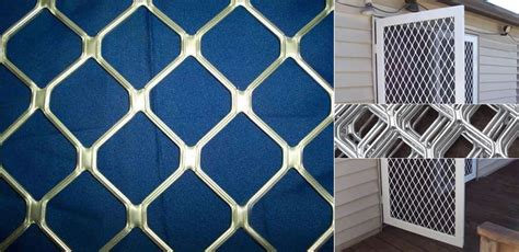 aluminum expanded mesh sheet  architectural cladding  decoration