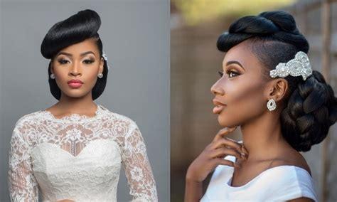 classy nigerian wedding hairstyles  brides  guests