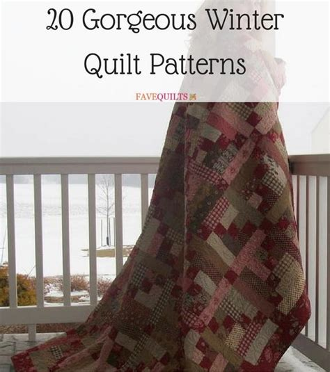 gorgeous winter quilt patterns favequiltscom